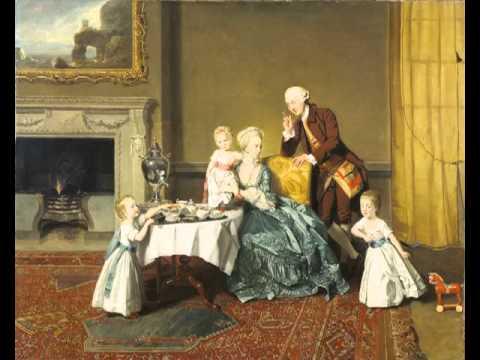 John, Fourteenth Lord Willoughby de Broke, and his Family, Johann Zoffany