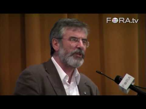 Gerry Adams Calls Irish Americans to Activism