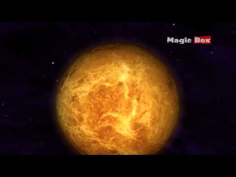 Solar System for Kids - Kids Educational Videos - The Solar System - Venus