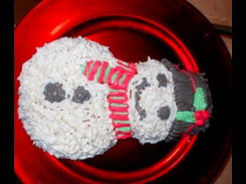 DIY: Snowman Cake Icing!