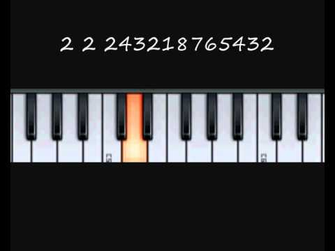 How to play the Cancan Theme - Music By Numbers