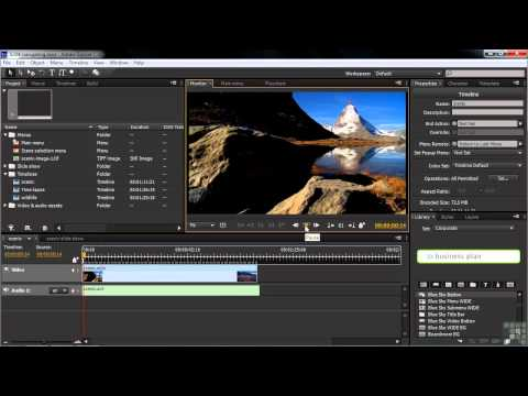 Adobe Encore CS6 Tutorial | Project Navigation | InfiniteSkills