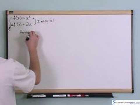 Calculus 1&2 Tutor - Sample 3 - Intro to Integrals