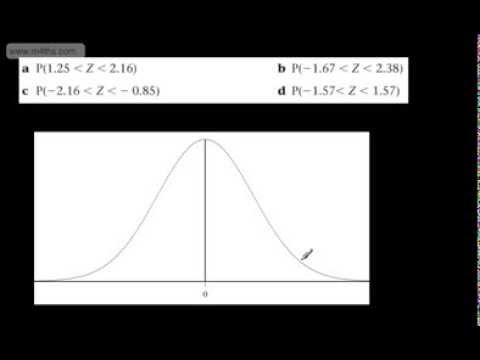 (4) S1 Normal Distribution (Probability) Double inequalities