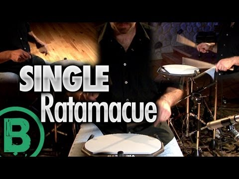 Single Ratamacue - Drum Rudiment Lessons
