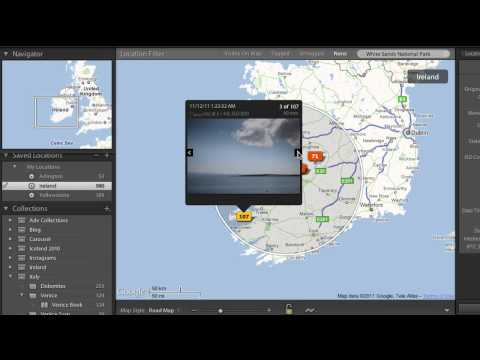 Lightroom 4 Beta: Mapping Your Photos