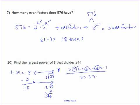 Lesson Review Problems Week 1 Part 1