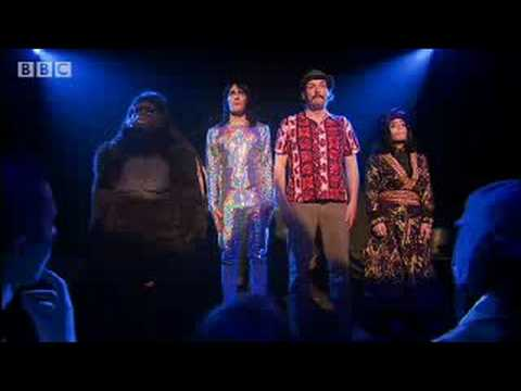 The four way crimp in the crimp off - The Mighty Boosh  - BBC comedy