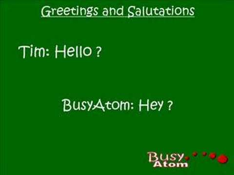 Answers to Hello?