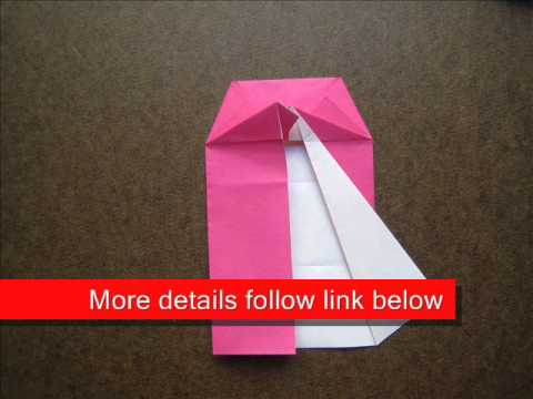 How to Fold  Korean Traditional Dress - OrigamiInstruction.com