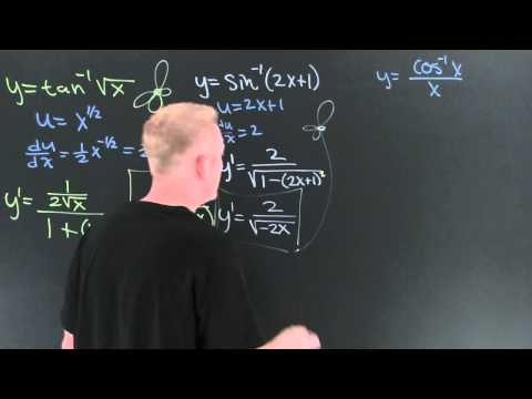 Derivatives of Inverse Trig Functions.mov