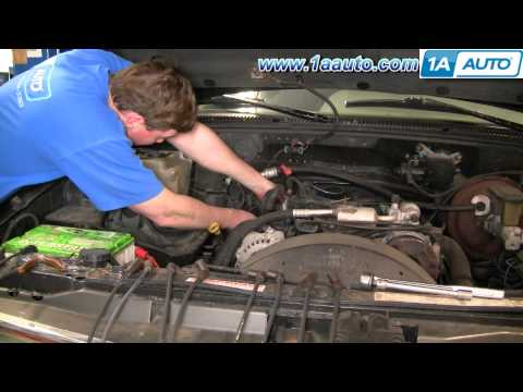 How To Install Replace Spark Plug Wires Chevy GMC Vortec 5700 1AAuto.com