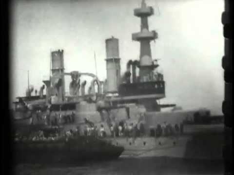 "U.S. battleship ""Indiana"""