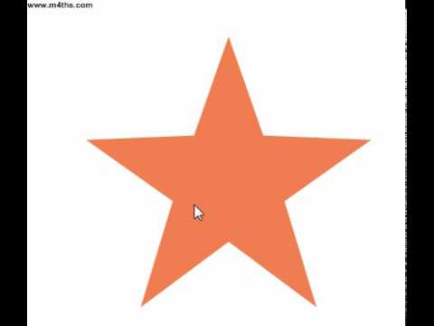 (12) GCSE Foundation Revision Short Videos Rotational Symmetry(order of rotational symmerty)