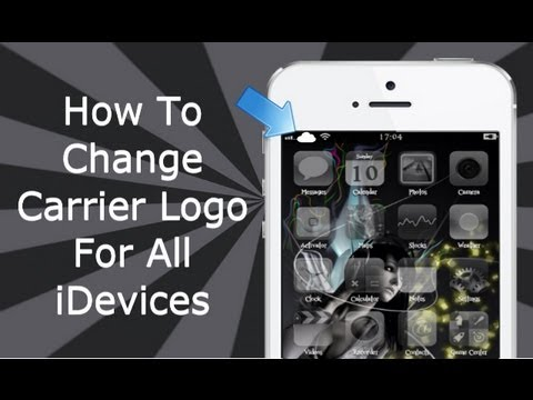 Change Carrier Logo's For iPhone 4S, 4, 3GS, iPad 3, 2,1 & iPod Touch 4, 3 (Zeppelin)