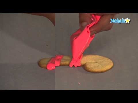 How to Decorate Candy Cane Cookies