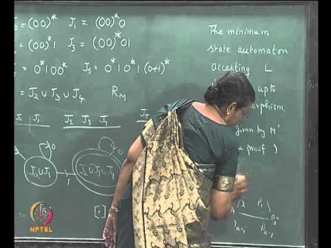 Mod-02 Lec-18 MINIMIZATION OF DFSA