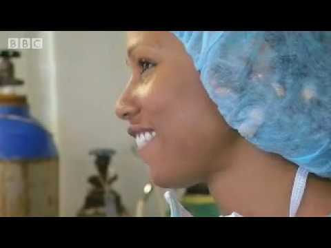 Surgery on board the African ER ship - BBC
