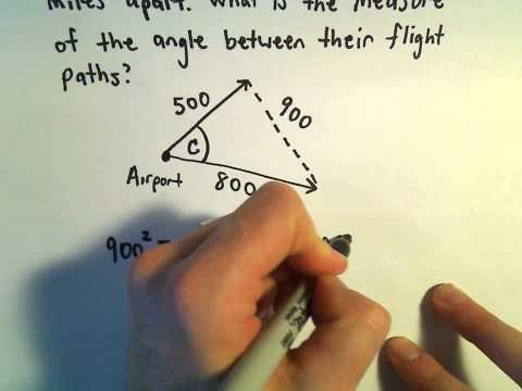 Law of Cosines, Example 4