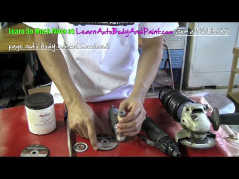 Auto Body And Paint Tools - Cut off Discs, Cut off Wheels and Grinders (must haves)