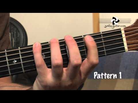 Building Melodic Patterns (Guitar Lesson IM-136) How to play IF Stage 3