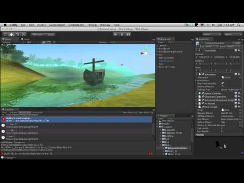 252. Unity3d Tutorial - Mob Melee Weapon