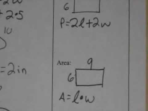 Course 2  Lesson 1.6 Perimeter and Area