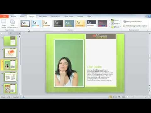 PowerPoint 2010: Themes