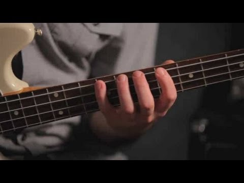 Bass Scales: Playing One-Octave Scales
