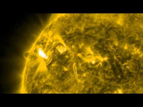 NASA | Active Region on the Sun Spits Out Three Flares