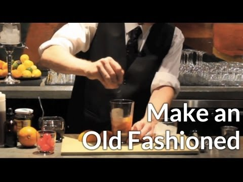 How to Make an Old-Fashioned Cocktail