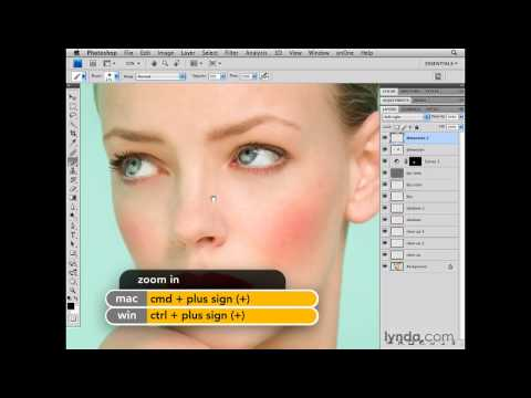 Photoshop: Adding dimension to the face | lynda.com