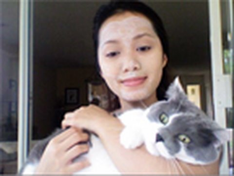 Kitty Litter Facial Mask : Deep Cleansing