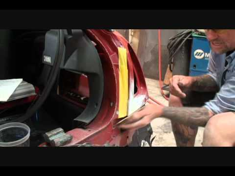Auto Collision-How To Repair A Dent Properly. Part 2
