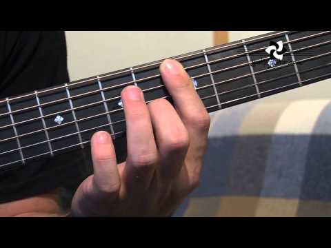 A Shape Min, Dom and Min7 Chord Grips (Guitar Lesson IM-141) How to play IF Stage 4