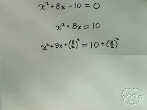 Guaranteach Math Tutorial: Completing the Square