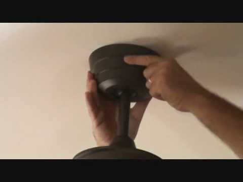 "installing a ceiling fan ""trim housing"""
