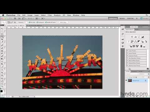 How to use the Magic Wand tool | lynda.com tutorial