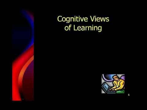 Behavorial and Cognitive Theories of Learing - Part 1