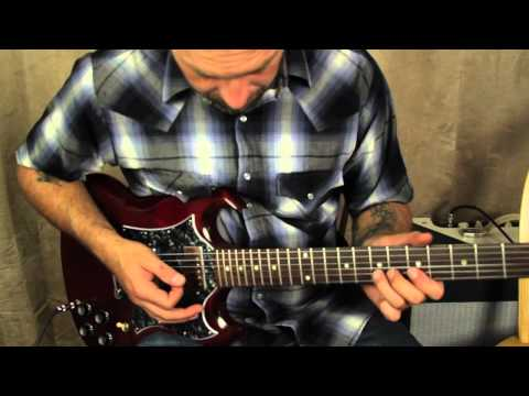 Blues Guitar Lessons - BB King inspired Lick - Lead Guitar Solos Major/Minor