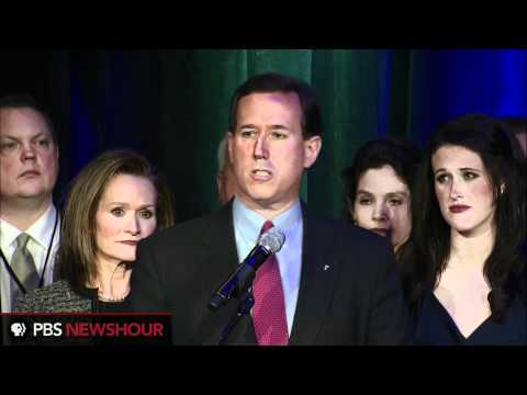 Watch Rick Santorum's Speech After Mich., Ariz. Primaries: 'You're Getting to Know Me'