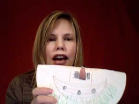Noah's Ark Told With a Paper Plate for Children | Cullen's Abc's Free Online Preschool