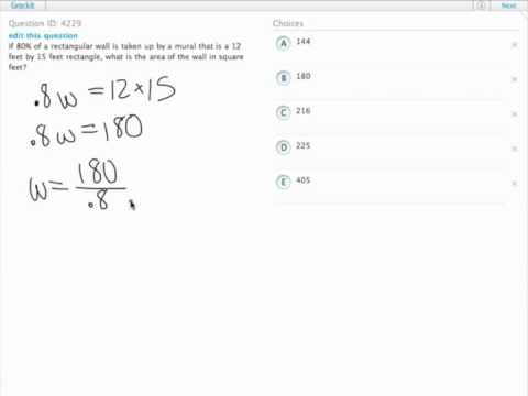 Grockit GMAT Quantitative - Problem Solving: Question 4229