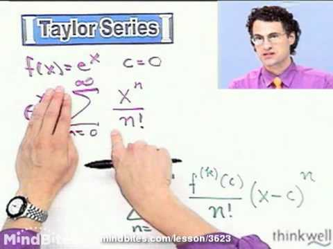 Calculus: Examples of Taylor and Maclaurin Series
