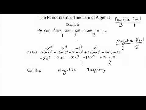 The Fundamental Theorem of Algebra PT 2