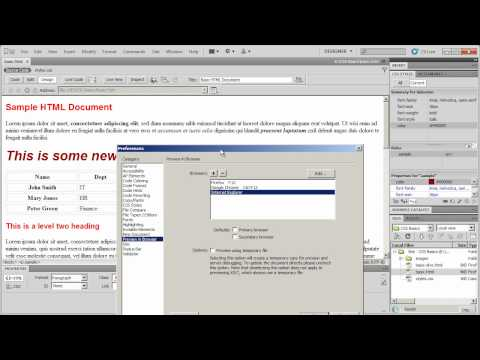 Add Opera browser to Dreamweaver CS5 Browser Preview
