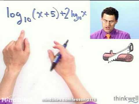 College Algebra: Combining Logarithmic Expressions