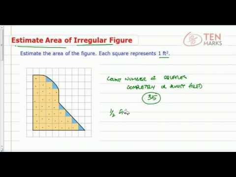 Estimate the Area of an Irregular Figure