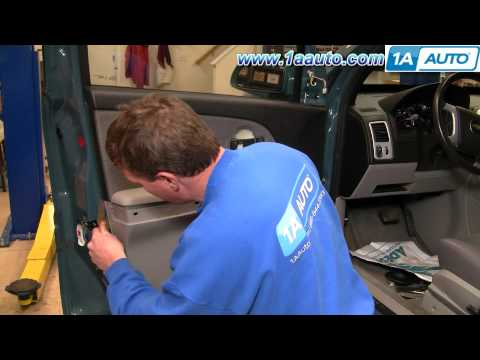 How To Install Replace Inside Door Handle Chevy Equinox 05-09 1AAuto.com