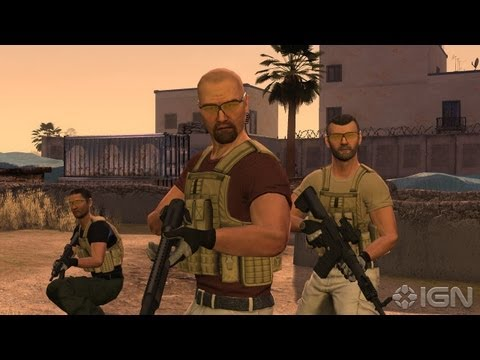 Video Game Based on Real-Life Mercenaries